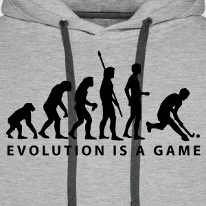 evolution_herren_hockey_b_1c Sweat-shirts - Sweat-shirt à capuche Premium pour hommes