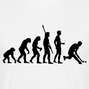Weiß evolution_herren_hockey_1c T-Shirts - Männer T-Shirt