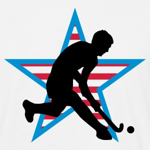 herrenhockey_b_3c_usa T-skjorter - T-skjorte for menn