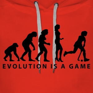 evolution_hockey_woman_b_1c Hoodies & Sweatshirts - Women's Premium Hoodie