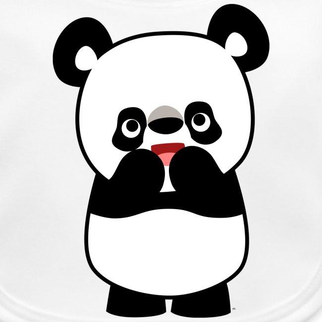 Cheerful Madness Cartoon Animals Shy Cute Cartoon Panda Baby