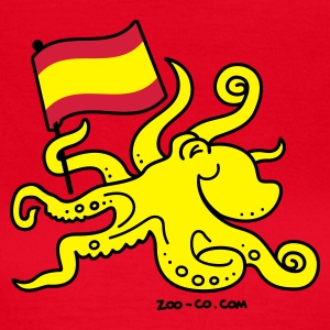 Red Paul the Octopus is Spanish! Women's T-Shirts - Women's T-Shirt
