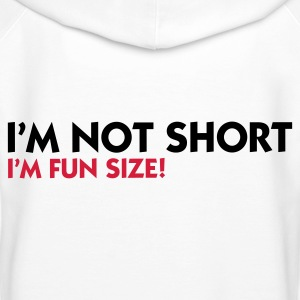 White I'm not short - I'm fun size (2c) Hoodies & Sweatshirts - Women's Premium Hoodie