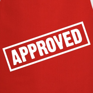 Red Approved (1c)  Aprons - Cooking Apron