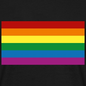 Rainbow Flag [Gay] T-shirts - T-shirt herr