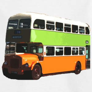 White Glasgow Corporation Bus Kids' Shirts - Teenage T-shirt