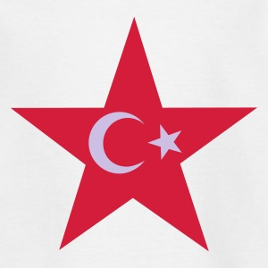 Vit turkey_star Barn-T-shirts - T-shirt tonåring