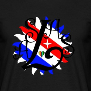 Salsa  French flag colours  - Men's T-Shirt