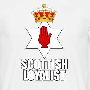 White scottish Men's T-Shirts - Men's T-Shirt