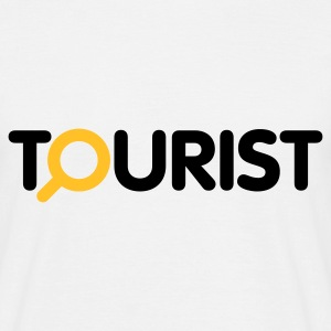Weiß Tourist © T-Shirts - Men's T-Shirt