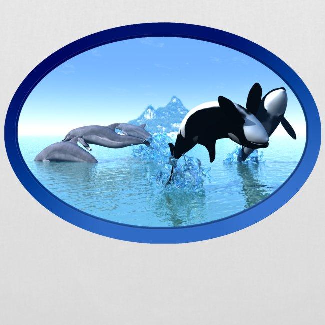 Dolfijnen en Orka's