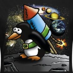 rocket_pinguin_c T-Shirts