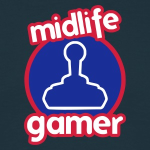 Midlife Gamer - Logo - Men's T-Shirt