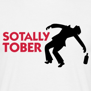 Wit Sotally Tober (2c) T-shirts - Mannen T-shirt