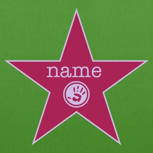 ::  walk of fame + your name :-:  - Borsa ecologica in tessuto