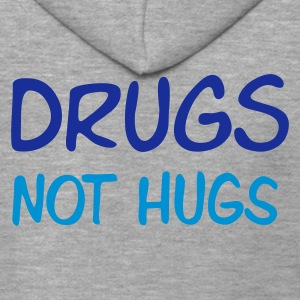 ::  drugs not hugs :-: - Premium Hettejakke for menn