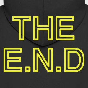 the end  - Men's Premium Hooded Jacket