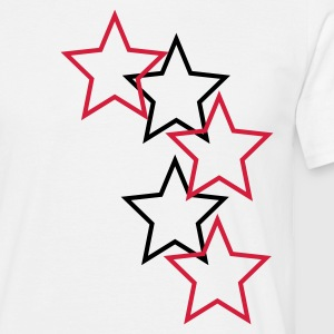 White Stars Men's T-Shirts - T-skjorte for menn
