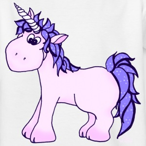 Weiß Ennea Einhorn Kinder T-Shirts - Teenager T-Shirt