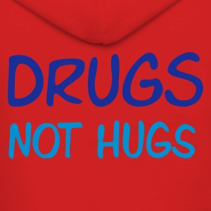 ::  drugs not hugs :-: - Frauen Premium Kapuzenjacke