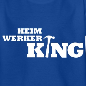 Royalblau Heimwerker King Kinder T-Shirts - Teenager T-Shirt