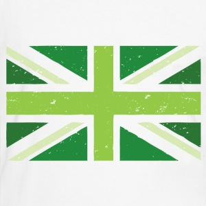 Green Union Jack - Men's Ringer Shirt