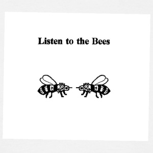 Listen to the bees - Men's T-Shirt