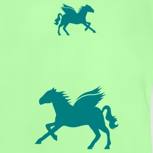 Mint green Flying horse Baby Shirts  - Baby T-Shirt