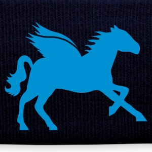 Navy Flying horse Caps & Hats - Winter Hat