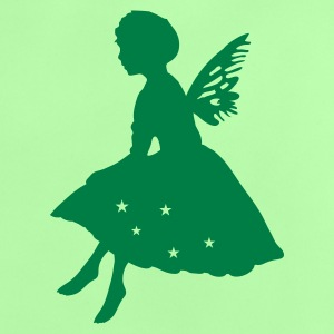 Mint green Little elf with wings Baby Shirts  - Baby T-Shirt