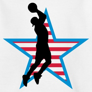 basketball_star_f_3c T-shirts - Teenager-T-shirt