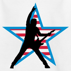rock_star_d_3c Shirts - Teenage T-shirt