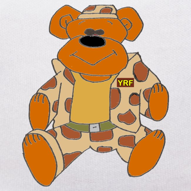 Combat Bear T-Shirt Teddy