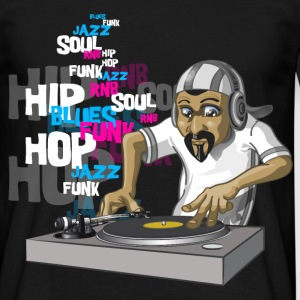 Dj Hip Hop mix - T-shirt Homme