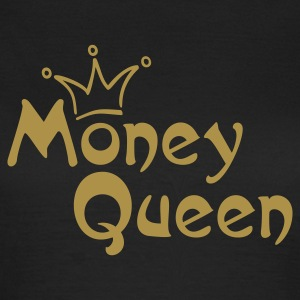 MONEY QUEEN | Frauen Basic Shirt - Frauen T-Shirt