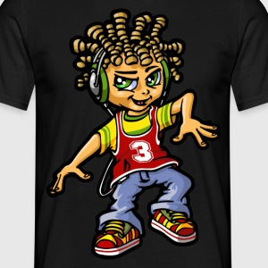 rastaboy and  dreads - T-shirt Homme