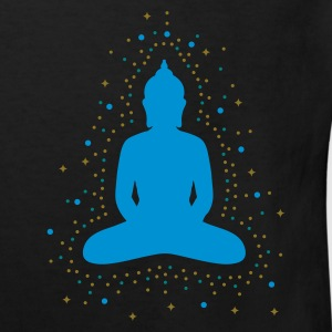 Black The aura of the Buddha Kids' Shirts - Kids' Organic T-shirt