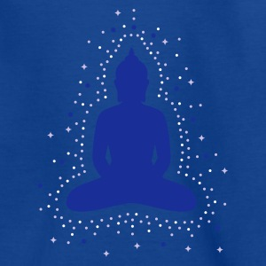 Royalblau Die Aura des Buddha Kinder T-Shirts - Teenager T-Shirt