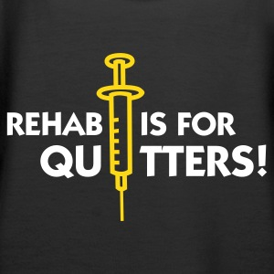 Black Rehab is for Quitters 2 (2c) Hoodies & Sweatshirts - Women's Premium Hoodie