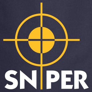 Navy Sniper (2c)  Aprons - Cooking Apron