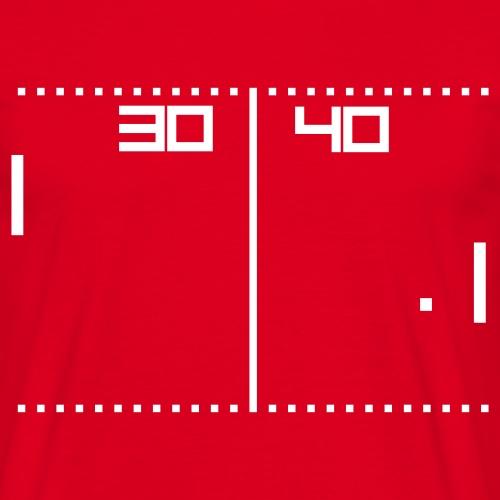vintage tennis game