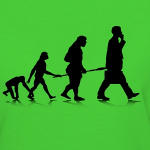 Human Evolution - Frauen Bio-T-Shirt