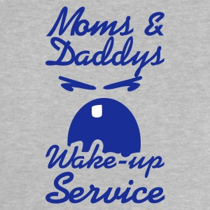 Heather grey wake up service (2c) Baby shirts - Baby T-shirt