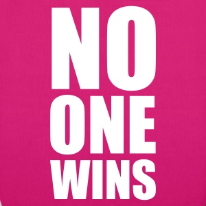 :: no one wins :-: - EarthPositive Tote Bag