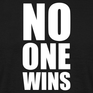 :: no one wins :-: - T-shirt Homme