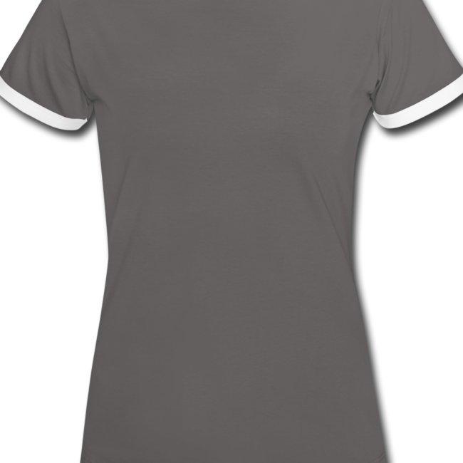 Dame kontrast-shirt