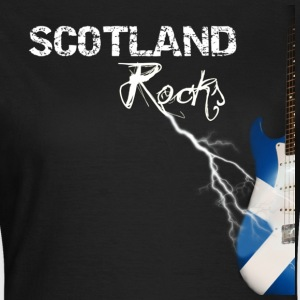 Lightning Guitar - Black - Women's T-Shirt