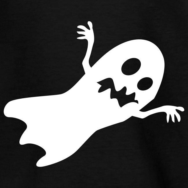 Halloween Ghost (Black/White)