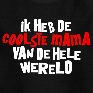 Zwart coolste_mama Kinder shirts - Teenager T-shirt