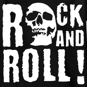 rock_and_roll_d_1c Shirts - Teenage T-shirt